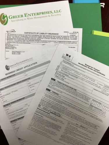 Greer Enterprises LLC Forms