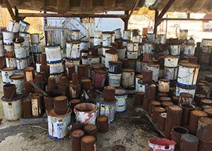 Universal Waste Lab Pack Chemicals Sampling